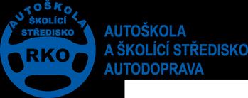 logo firmy AUTOŠKOLA RKO Brno
