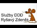 logo firmy Deratizace Ryšavý Služby DDD