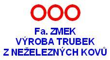 logo firmy Ing. Boøivoj Zmek - Výroba trubek