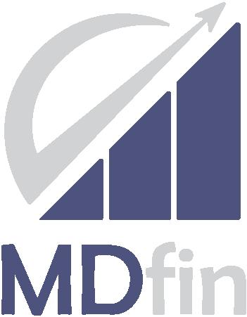 logo firmy Martin Danìk - MDfin