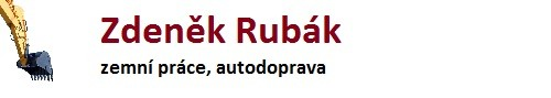 logo firmy Zdenìk Rubák