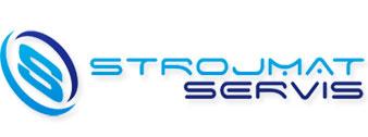 logo firmy STROJMAT SERVIS