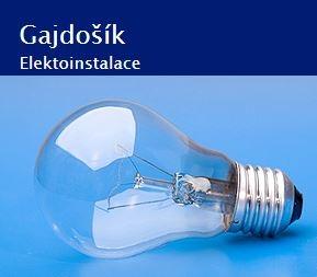 logo firmy Ludvík Gajdošík - elektroinstalace Hradec Králové