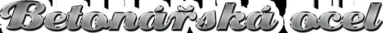 logo firmy Betonáøská ocel