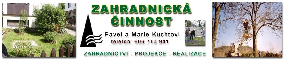 logo firmy Kuchtovi - zahradnická èinnost