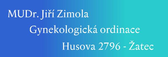 logo firmy MUDr. Jiří Zimola - Gynekologická ambulance