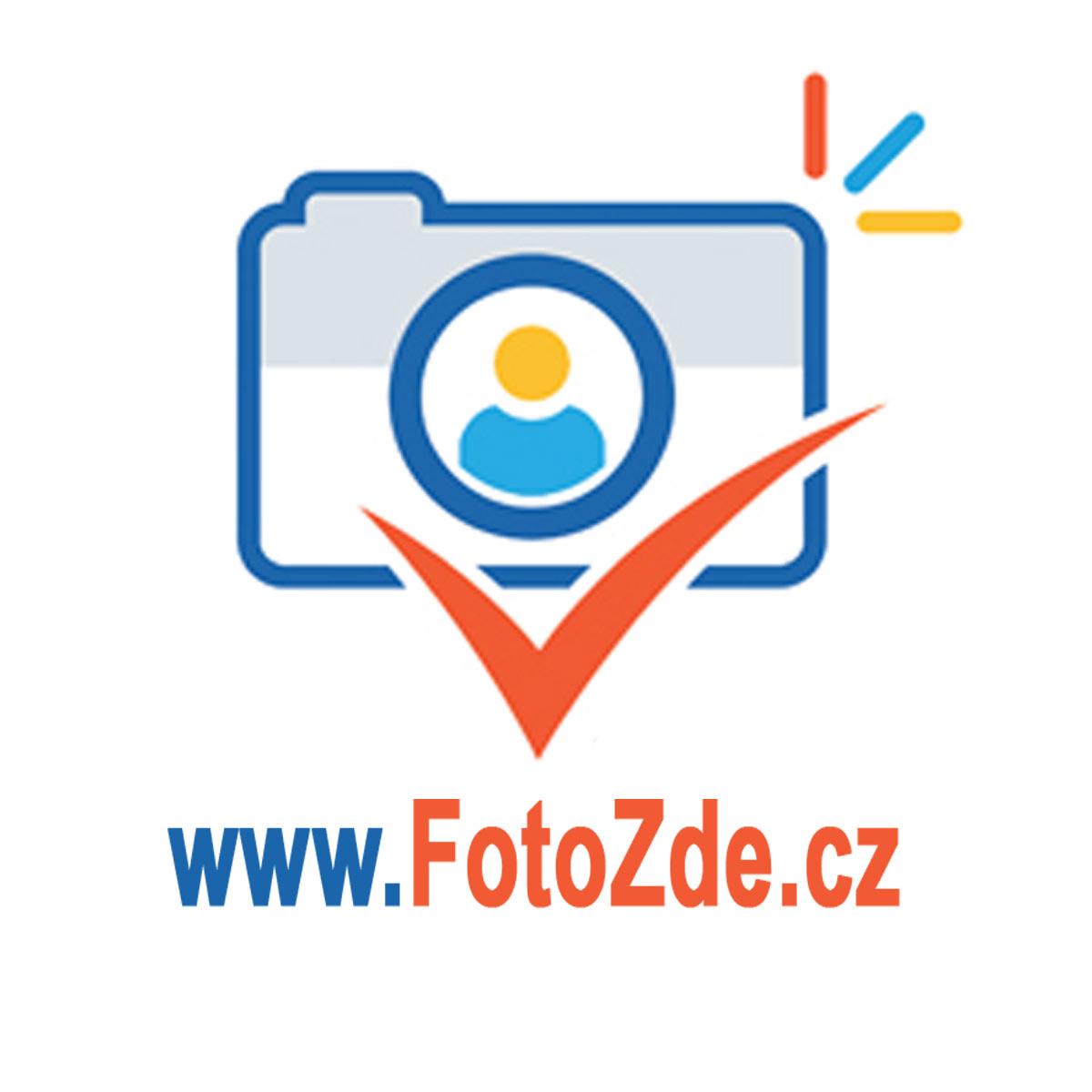 logo firmy FotoZde - fotografování výroba fotodárků
