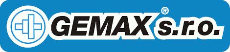 logo firmy GEMAX s.r.o.
