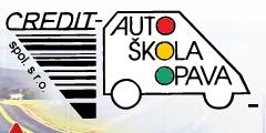 logo firmy CREDIT - Autoškola, spol. s r.o.