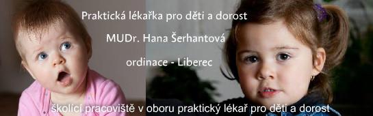 logo firmy  MUDr. Hana Šerhantová