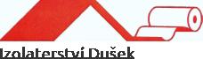 logo firmy IZOLATERSTVÍ DUŠEK