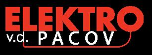 logo firmy ELEKTRO VÝROBNÍ DRUŽSTVO PACOV