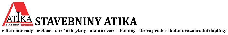 logo firmy Stavebniny Atika
