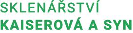 logo firmy Sklenářství Kaiserová a syn