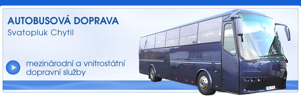 logo firmy AUTOBUSOVÁ DOPRAVA - SVATOPLUK CHYTIL