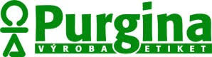 logo firmy PURGINA, spol. s r.o. - výroba etiket