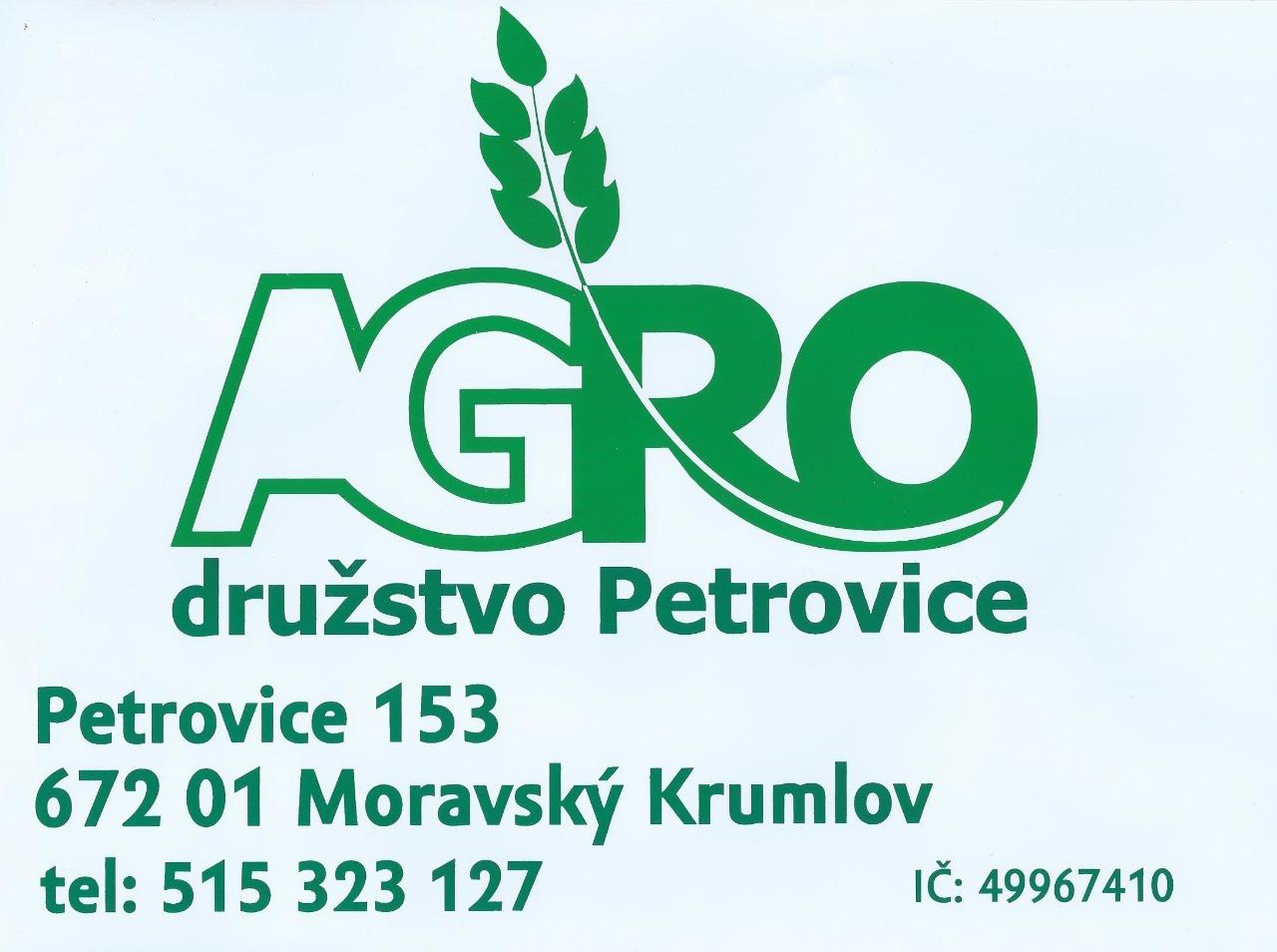 logo firmy AGRO družstvo Petrovice