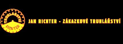 logo firmy Jan Richter - Zakázkové Truhlářství