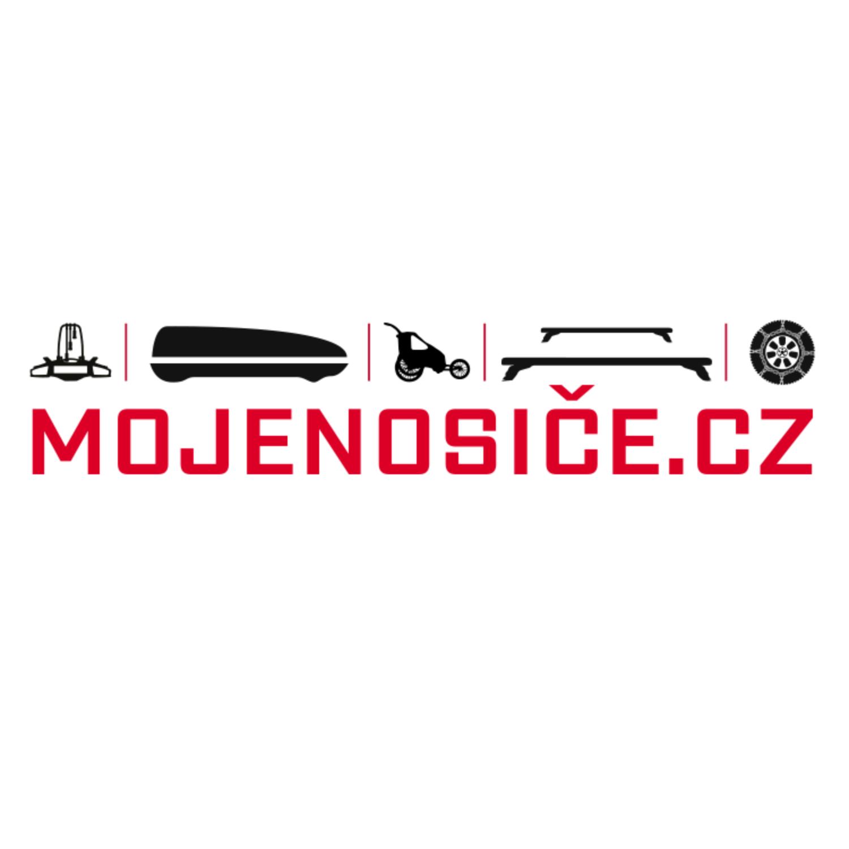logo firmy MOJENOSIČE.CZ - Autoboxy, střešní nosiče