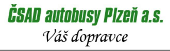 logo firmy ČSAD AUTOBUSY PLZEŇ - Přeštice
