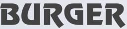 logo firmy BURGER OBCHOD