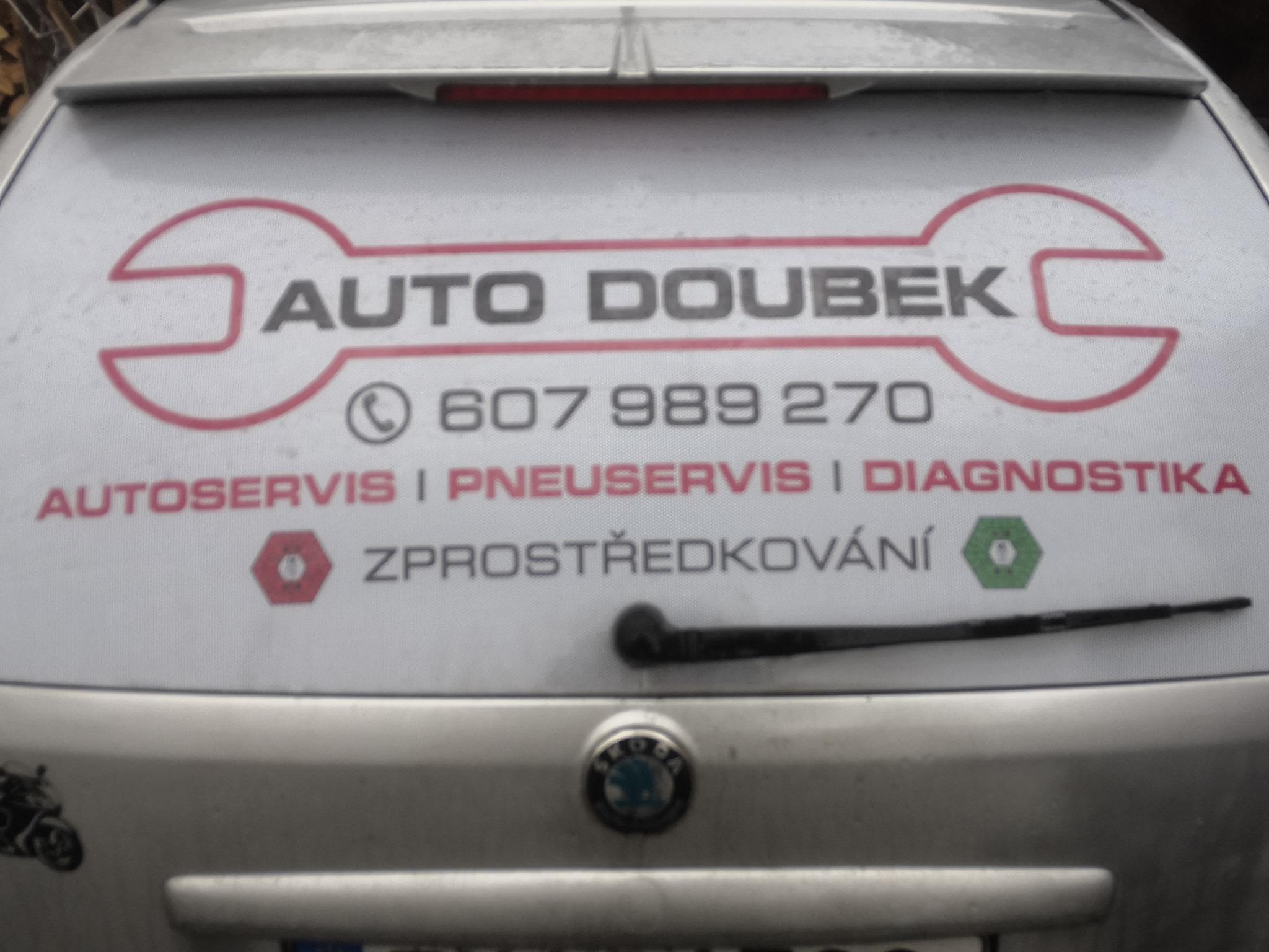 logo firmy AUTO DOUBEK