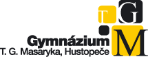 logo firmy GYMNÁZIUM T. G. MASARYKA