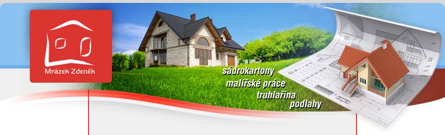 logo firmy Zdenìk Mrázek – øemeslné práce ve stavebnictví