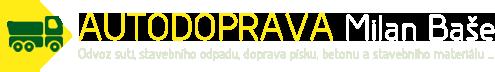 logo firmy Autodoprava Milan Baše