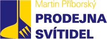 logo firmy Martin Pøíborský - Svítidla Pøíborský