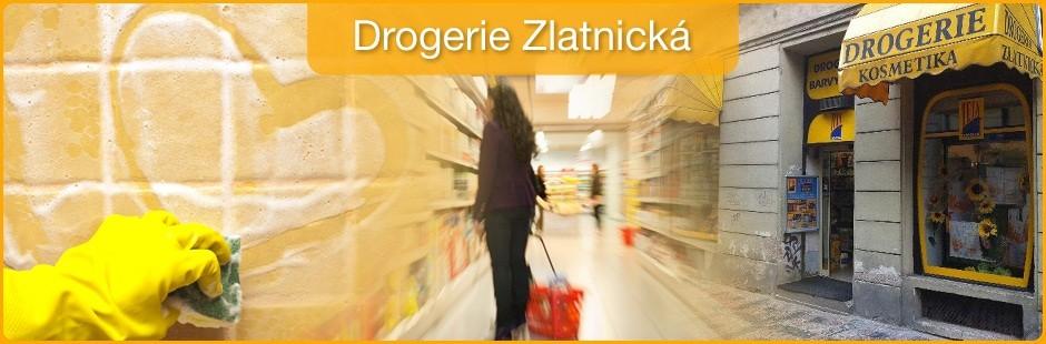 logo firmy Drogerie Zlatnická Praha 1