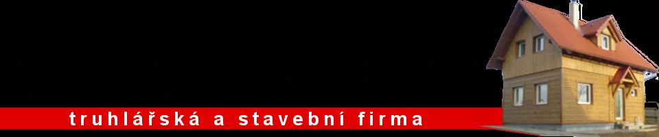 logo firmy David Schubert - Døevostavby Turnov