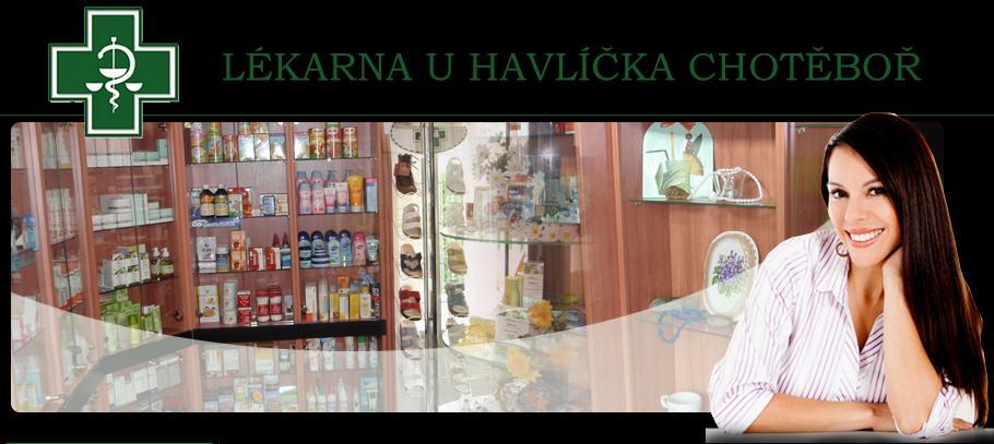 logo firmy U HAVLÍÈKA LÉKÁRNA