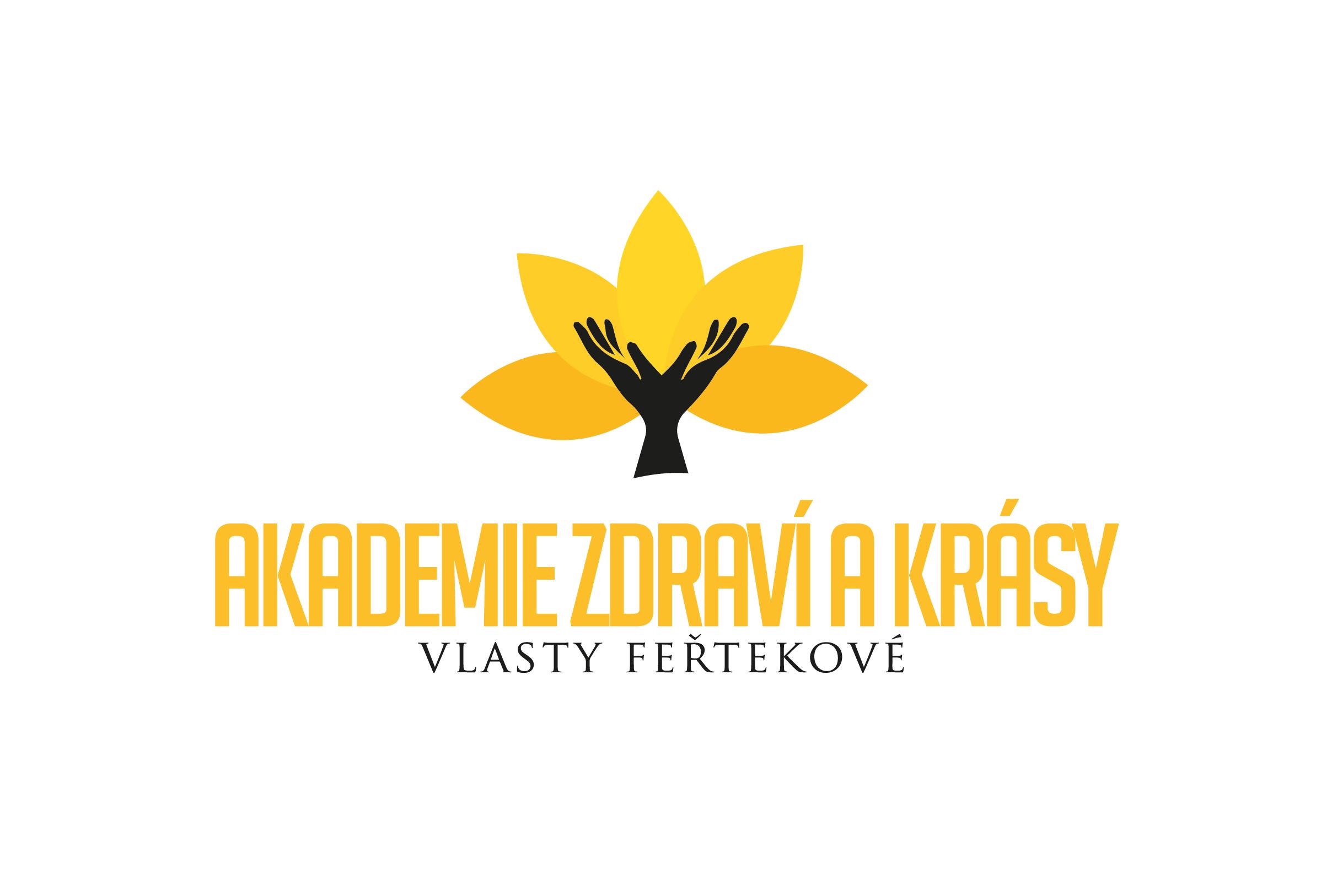 logo firmy Akademie zdraví a krásy Vlasty Feøtekové
