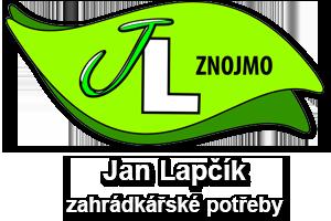 logo firmy JAN LAPČÍK - ZAHRÁDKÁŘSKÉ POTŘEBY