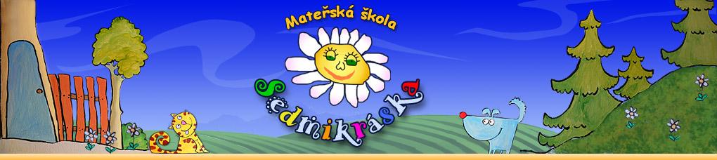 logo firmy Mateøská škola Sedmikráska, V. Špály 7, Èeské Budìjovice