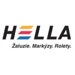 logo firmy HELLA stínicí technika s.r.o. Výroba prodej žaluzie rolety markýzy