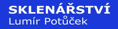 logo firmy SKLENÁŘSTVÍ LUMÍR POTŮČEK