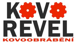 logo firmy Kovo REVEL