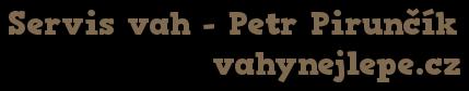 logo firmy PIRUNÈÍK SERVIS VAH