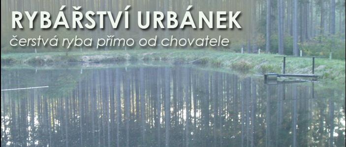 logo firmy Rybáøství Urbánek