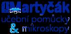 logo firmy Učební pomůcky a mikroskopy - RNDr. Karel Martyčák