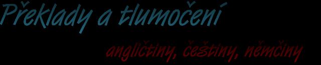 logo firmy Ludmila Hornyaková - tlumoènické služby