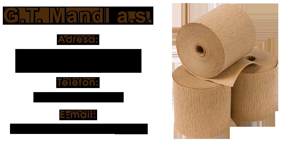 logo firmy G.T.MANDL, a.s.