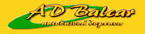 logo firmy Martin Balcar - Autobusová doprava
