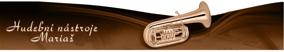 logo firmy Hudební nástroje Mariaš