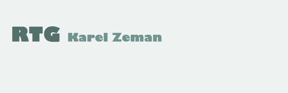 logo firmy RTG - Karel Zeman