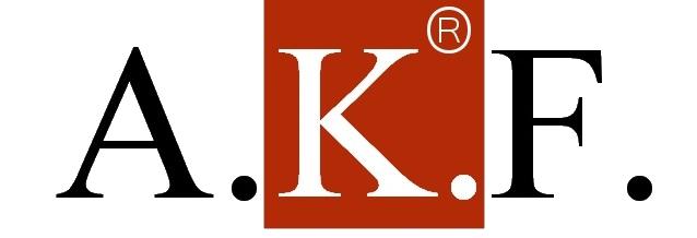logo firmy A.K.F. Správa nemovitostí a.s.