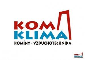 logo firmy Kominictví KOMKLIMA