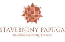 logo firmy STAVEBNINY PAPUGA